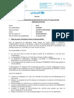 Admin. Suivi Et Evaluation_31 Janvier 2016