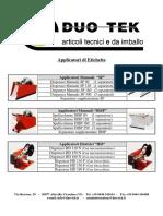 All 281 1 Duo-tek Applicatori Di Etichette