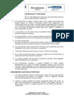 PdR E 004 Herramientas - VDHL