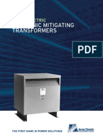 Harmonic Mitigating Transformer