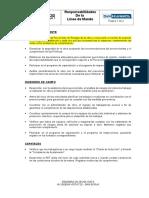 Responsabilidades de La Linea de Mando - VDLH