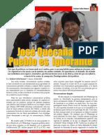 Jose Quecana El Pueblo Es Ignrante
