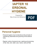 Chapter 10 PERSONAL HYGIENE