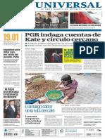 GradoCeroPress-Portadas de Medios Nacionales.viernes 22 de Enero 2016.