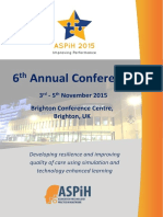 2015 Conference First Brochure Ver 2
