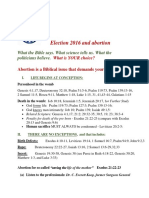 Election 2016 and Abortion