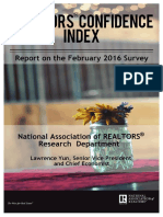 Realtors Confidence Index