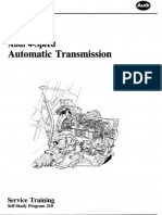 Audi 4 Speed Transmission