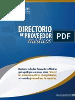 Directorio Proveedores Medico