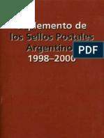 Sellos Da Argentina Mello Teggia 1998-2000
