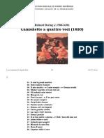 Canzonette a quattro voci / Richard Dering