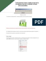 Solucion Error Excel Poca Memoria de Dispositivo(Gam742)