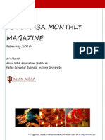 Asian MBA Monthly Magazine-February Edition