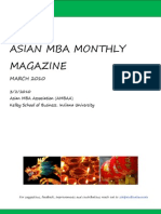Asian MBA Monthly Magazine-March Edition