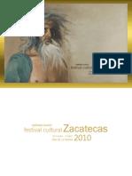 Programa Festival Cultural Zac 2010