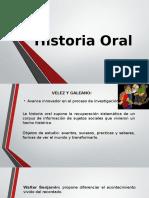 Historia Oral Exposicion