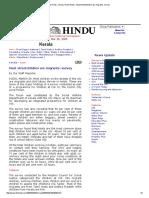 The Hindu _ Kerala _ Kochi News _ Most Streetchildren Are Migrants_ Survey