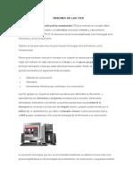 RESUMEN DE LAS TICS.docx