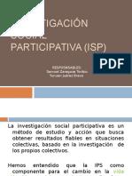 Investigación Social Participativa (ISP)