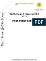 Earth Hour Central CDC Post Event Report