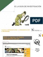 Guía de Investigación UPN