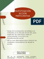 Investigación Acción Participativa v Semestre