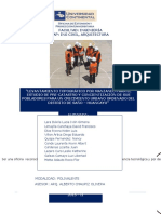 Informe Pre Catastro y Manual de planeamiento en comunidades.
