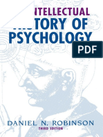 Daniel Robinson - An Intellectual History of Psychology