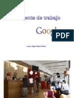 Ambiente de Trabajo en Google