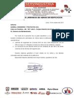 Certificado de Laminado de Vidrios