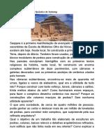 Saqquara - O complexo Quântico de Imhotep