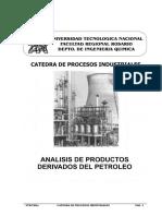 Analisis del Petróleo