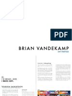 Brian Vandekamp Portfolio-2016
