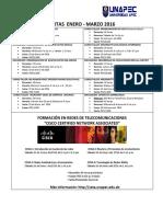 Ofertas Ceta Para Enero - Marzo 2016