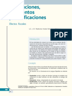 Devoluciones, Descuentos y Bonificaciones. Efectos Fiscales