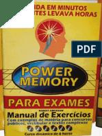 Power Memory Para Exames