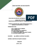 Clima Organizacional de Desarrollo Urbano -2014- Lunes 28 de Julio