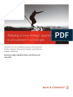 BAIN BRIEF Adopting a More Strategic Approach to Procurement in Oil and Gas