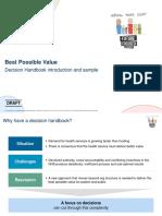 Decision Handbook Intro