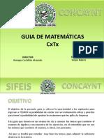Matematicas Para CxTx