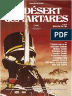Le désert des Tartares - Film de Valerio Zurlini d'après un livre de Dino Buzzati