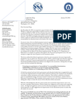 Joint Letter to SED