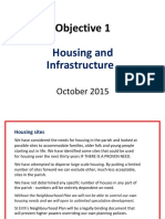 Objectives 1 and 2 Housing and Infrastructure 8.10.2015 (1)