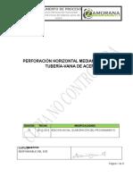 Pro-02!03!006 Ejecución Perforación Horizontal Mediante Hinca de Tubería Vaina de Acero