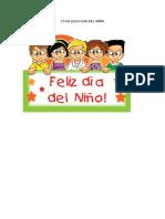 15 de Julio Dia Del Niño