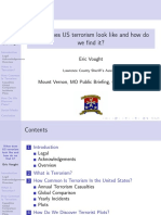 What does US terrorism look like and how do we find it? (Slides)