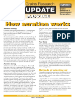 Grains Research Update Advice How Aeration Works