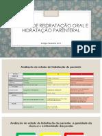 Terapia de Reidratação Oral e Hidratação Parenteral