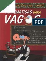 Matematicas para vagos