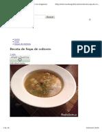 Sopa de Colicero